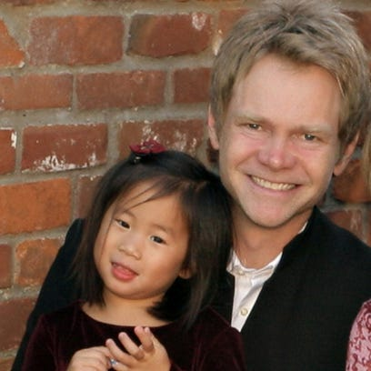 """""""This little one just grabbed my heart,"""" Steven Curtis"""