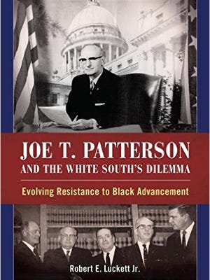 "Book cover to ""Joe T. Patterson and the White South's Dilemma."""