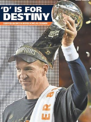 Pick up this limited edition Broncos Super Bowl 50 poster at the Coloradoan.
