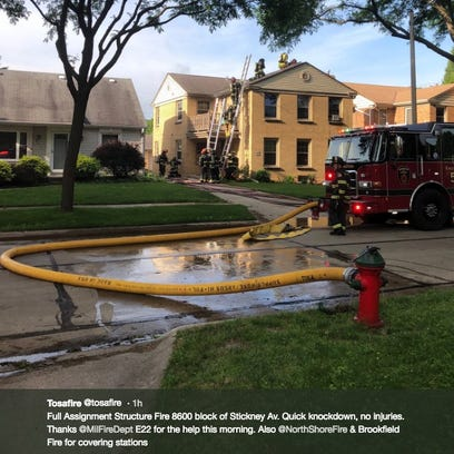 Fire in Wauwatosa causes substantial damages