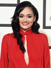 Kehlani, seen here at the 2016 Grammys, was hospitalized