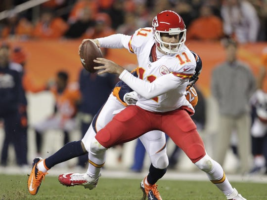 Kansas City Chiefs quarterback Alex Smith.