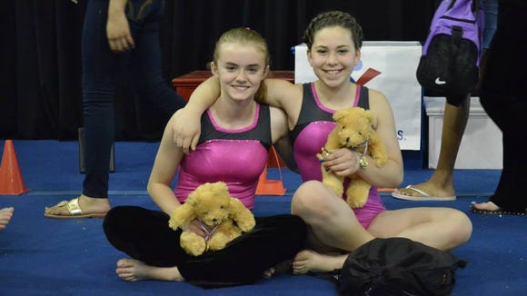 Katey Brown, left, and Emily Myers