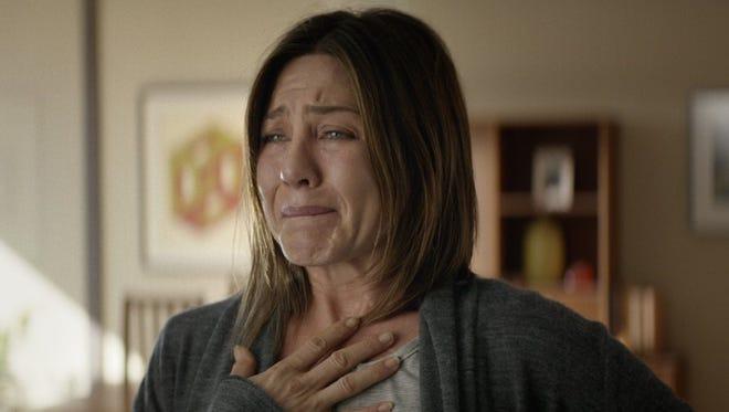 "Jennifer Aniston stars as a woman battling chronic pain in ""Cake."""