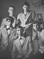 From 1961 to 1966, The Top Hats were the house band at Crafton's Park in Staunton. They played there every other weekend and had a huge fan base. According to Ruth Booth, co-owner of Crafton's, it was her opinion that the group were one of the most popular bands to play there.