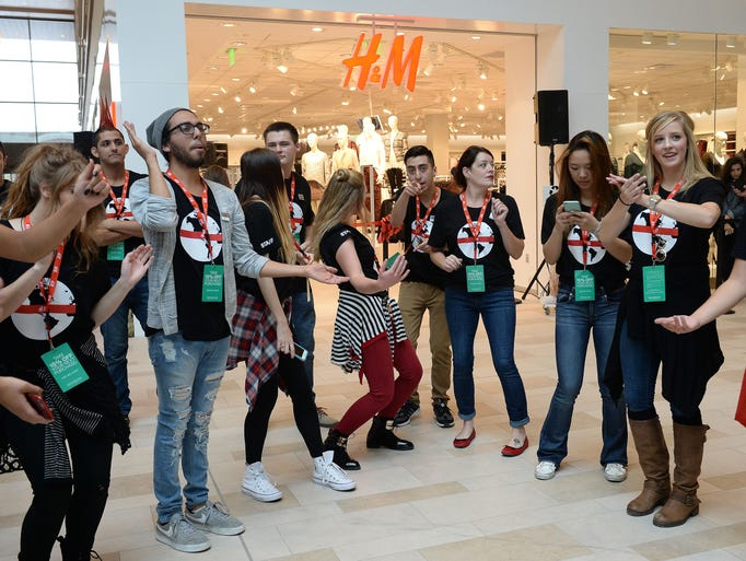 Nordstrom Rack and H&M Grand Openings