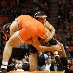 Oklahoma State wrestling clobbers Iowa in Stillwater