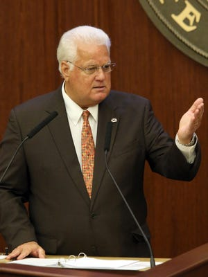 Florida Secretary of State Ken Detzner says his release of voter information to the federal government was in compliance with state law.