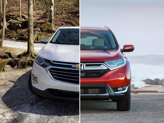 The 2018 Chevy Equinox, the automaker's best-selling