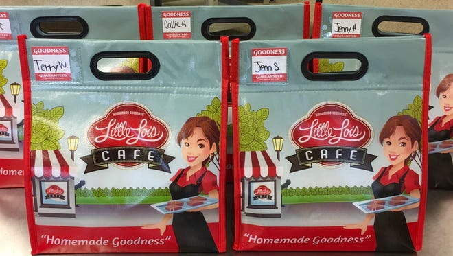 Little Lois Cafe has closed its dine-in cafe to focus on delivery and pickup lunches. Cooler bag lunches come with a sandwich, deli salad, bag of chips, full-sized dessert and water bottle.