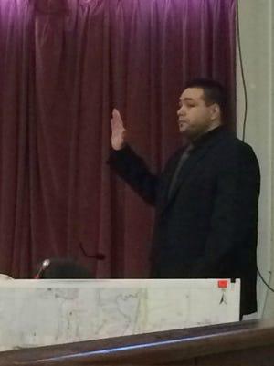 Pete Jason Polson testifies Thursday.