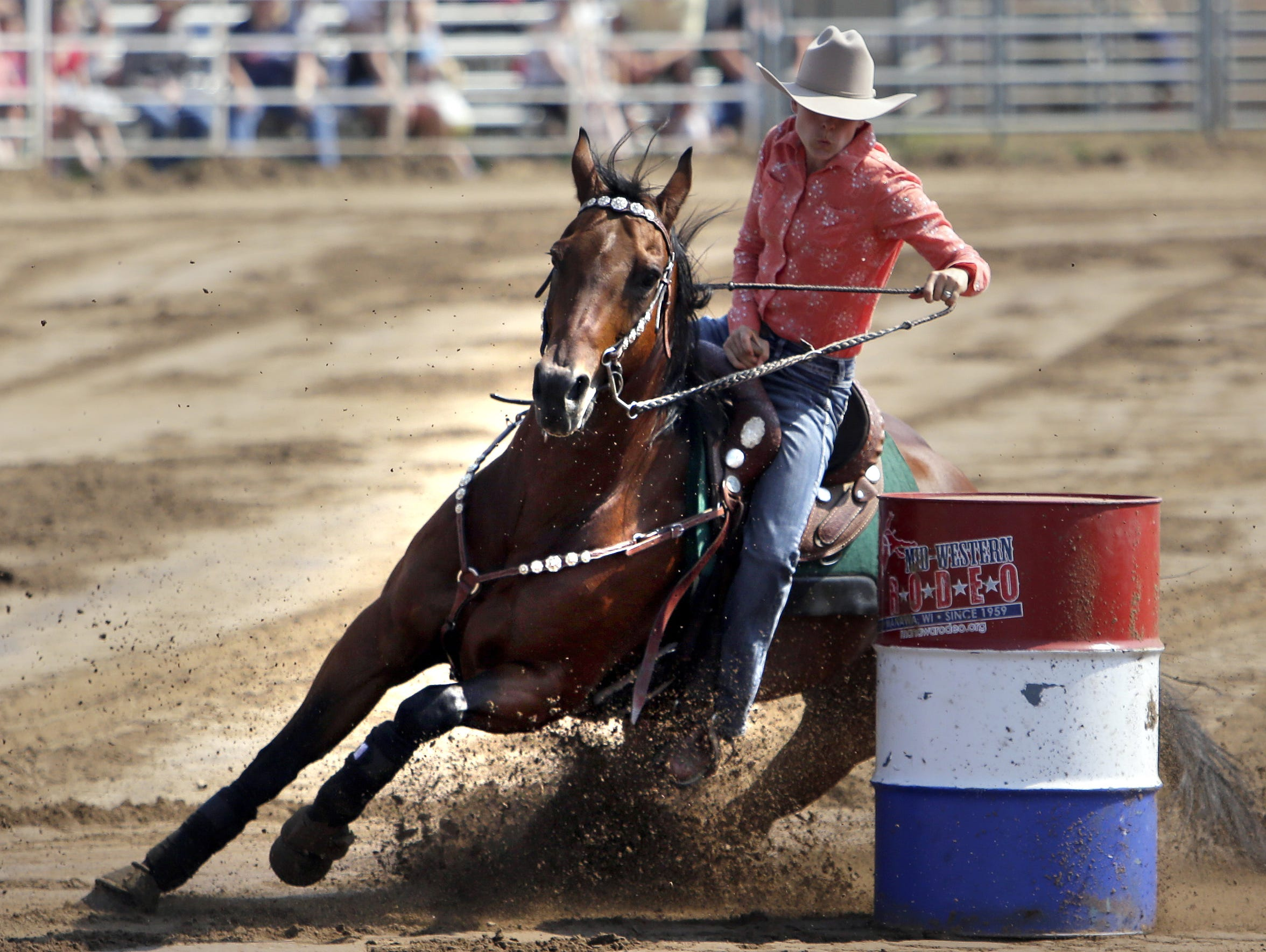 The Mid-Western Rodeo returns this summer in Manawa.