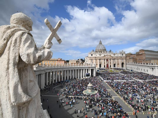EPA EPASELECT VATICAN RELIGION HOLY WEEK REL CHURCHES (ORGANISATIONS) VAT