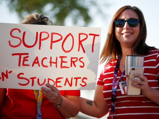 AP TEACHERS SECOND JOBS A USA AZ