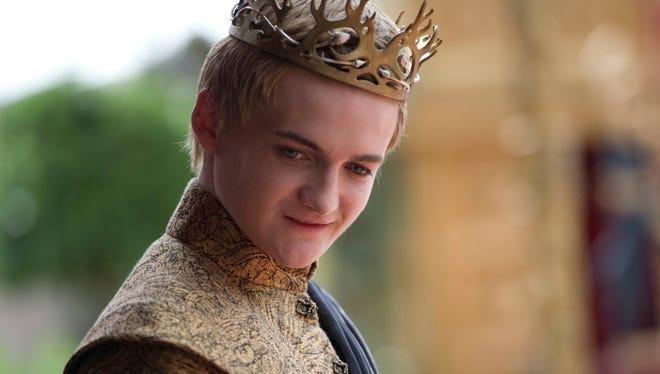 Jack Gleeson as Joffrey on 'Game of Thrones.
