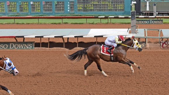 Corona's First Diva qualified for next month's All American Futurity on Saturday in Ruidoso.