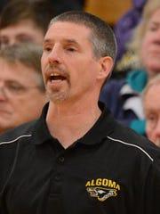 Algoma coach Mark Zastrow