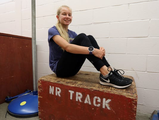 Katelyn Tuohy, North Rockland Track
