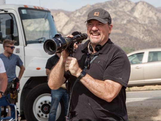 "Director John Carroll Lynch on the set of ""Lucky,"" a Magnolia Pictures release."