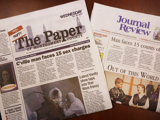 LAF Crawfordsville two papers