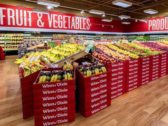 Winn-Dixie is remodeling many of its supermarkets with