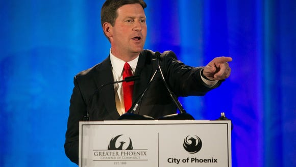 Mayor Greg Stanton gives his 2014 State of the City