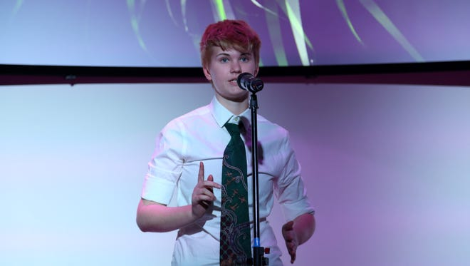 Bucky Fuchs, a junior at Harpeth Hall School, is one of three finalists hoping to become the 2017 Nashville youth poet laureate.
