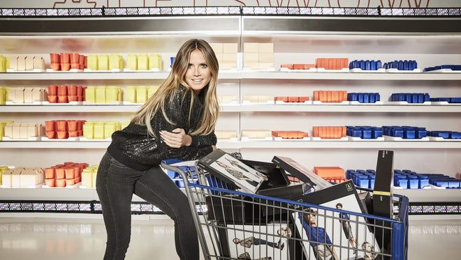 Heidi Klum is ready to wow with her collection for Lidl.