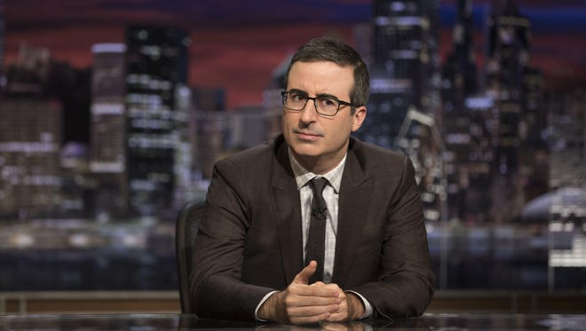 'Last Week Tonight' host John Oliver addressed the sexual harassment claims against Harvey Weinstein on Oct. 8.