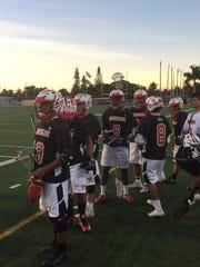 The Immokalee boys lacrosse team established a season-record