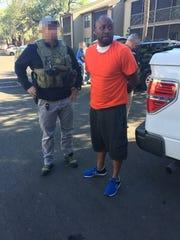 U.S. Marshals Task Force agents arrest Leavy L. Johnson