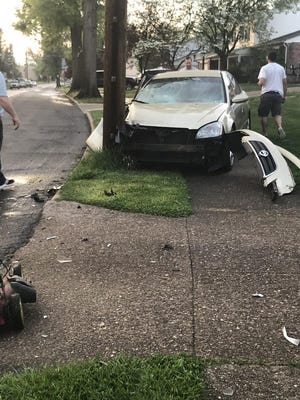 Fairview Township Police were called to the 200 block of Green Lane Drive for a single-vehicle crash Thursday. Police took the driver into custody for driving under the influence, police said.