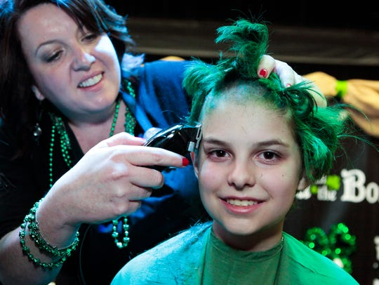 Bald in the Boro is set for 4-8 p.m. Friday at Lanes, Trains and Automobiles, 450 Butler Drive in Murfreesboro.