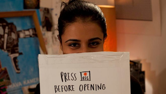 Mahira Kakkar stars as Asha, a young woman studying in Prague who connects via video letters to Hank, a filmmaker in New York.