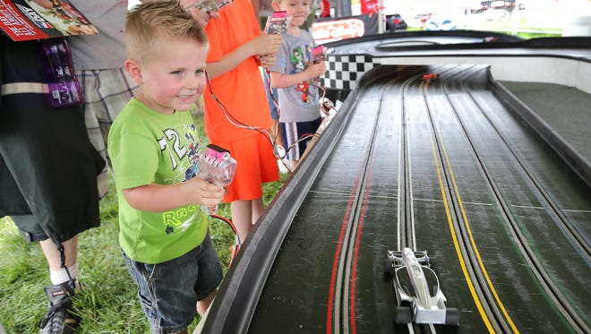 Community Day offered many family activities at IMS.