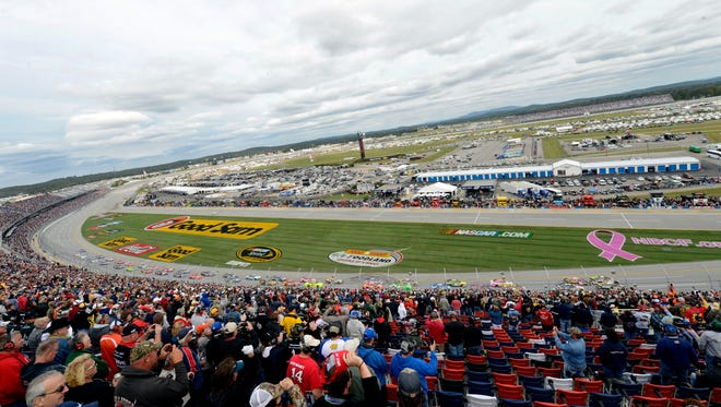 Talladega Superspeedway before the 2012 Good Sam Roadside Assistance 500.