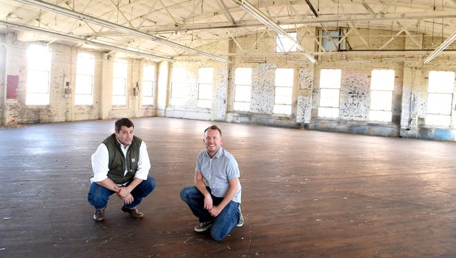 Barre Tanguis and Will Donaldson, the owners of New Orleans food hall St. Roch Market, plan to open a similar concept in Nashville's Wedgewood-Houston neighborhood.