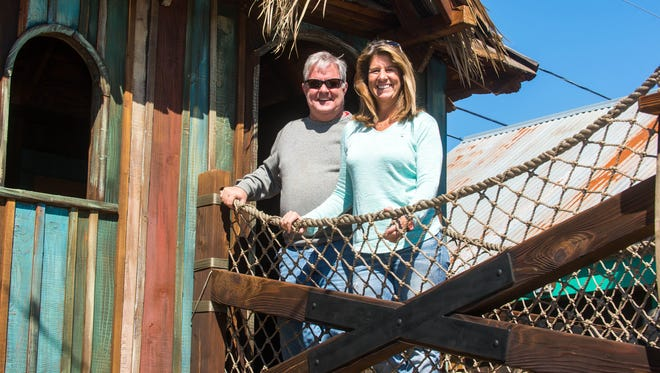 Shawn and Donna Harman of Fish Tales will unveil their new and improved play area on Saturday, April 16th after offseason improvements.
