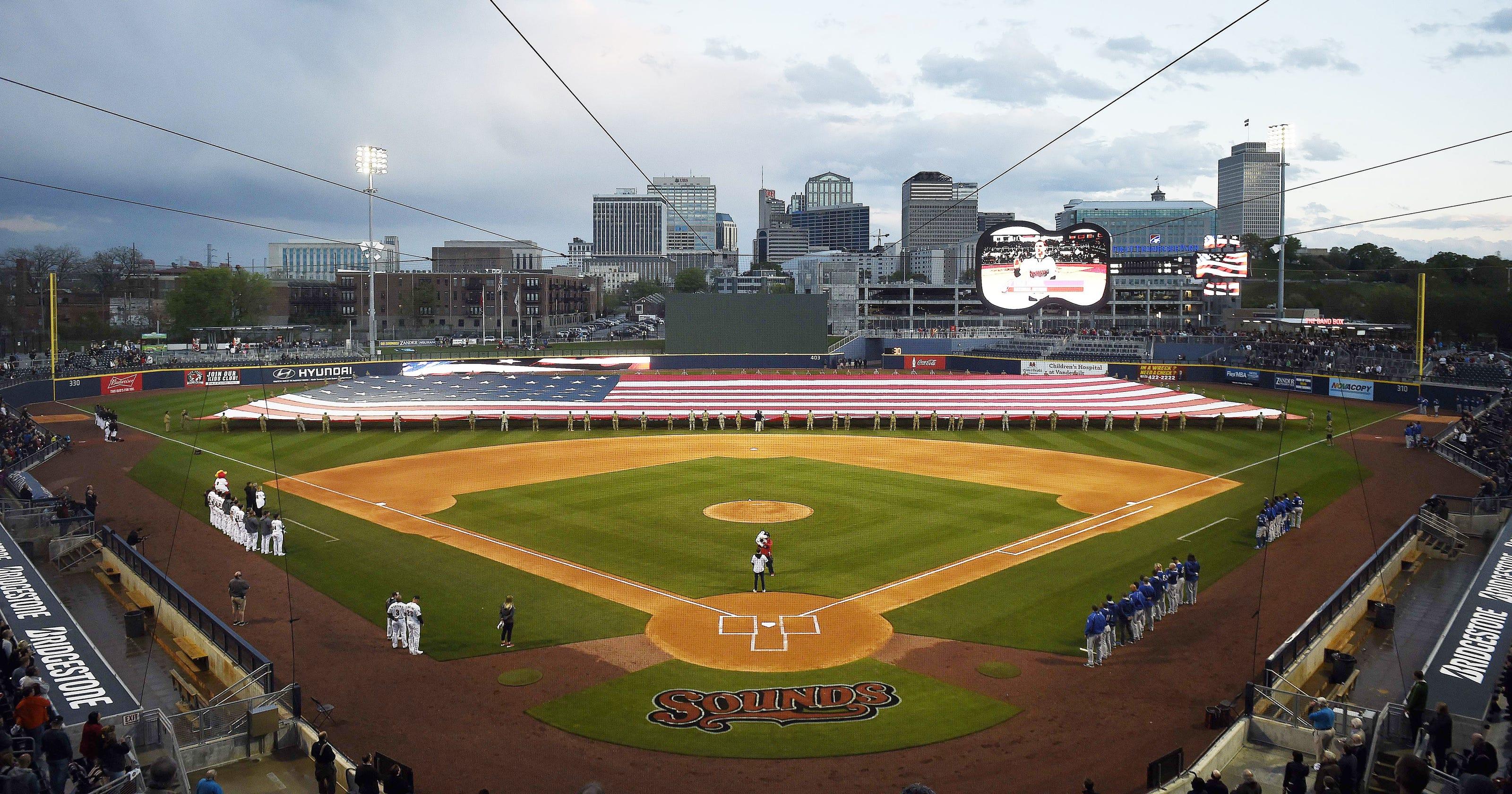 9e6e2a02d Major League Baseball commissioner names Nashville a potential expansion  city