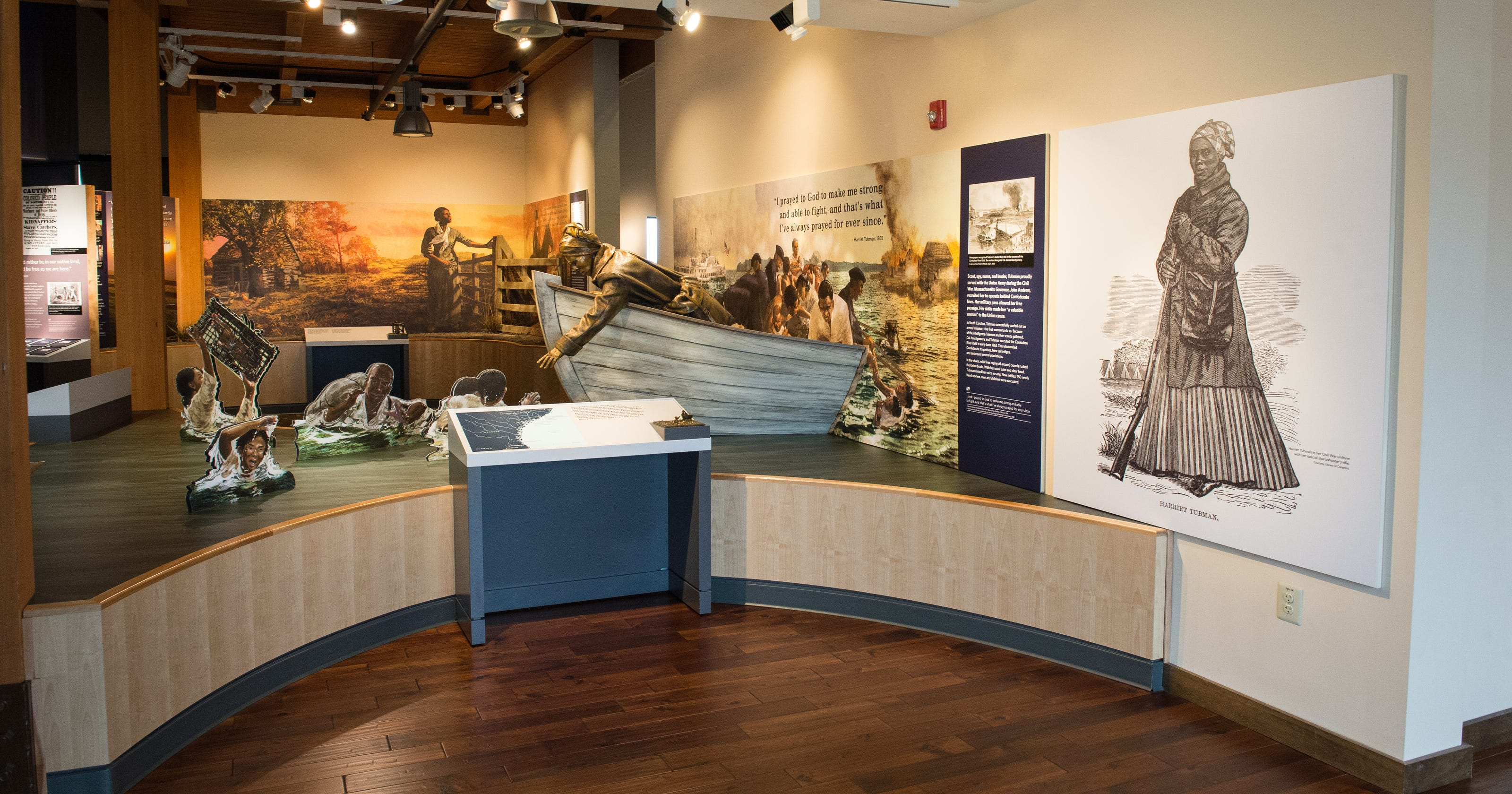 Harriet Tubman national park gets 100,000 visitors in first year