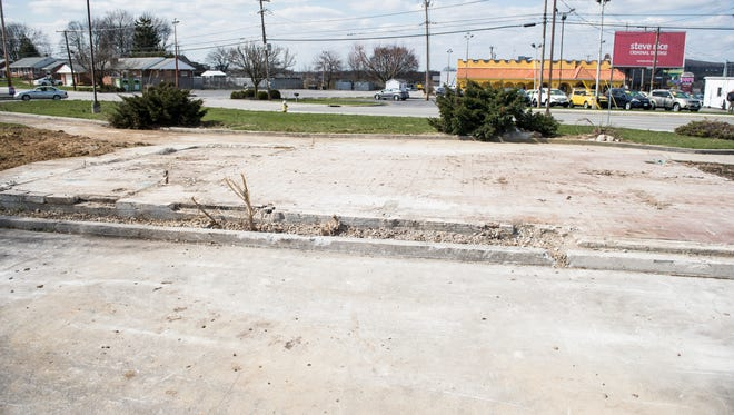 The Hot 'n Now that was located at 1092 Carlisle Street and stayed vacant for decades was demolished on Wednesday, April 4, 2018. The current owners of the property, Aarsand Management LLC, have no immediate plans for the property.
