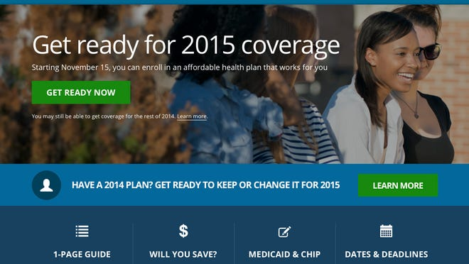 This image shows the website for updated HealthCare,gov, a federal government website managed by the U.S. Centers for Medicare & Medicaid Service. The Obama administration has unveiled an updated version of HealthCare.gov.