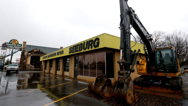 The Seeburg Service Center property, located at 607 W. Sunshine St. was bought by Bass Pro Shops next door to the new Angler's Inn, and plans are to demolish the building soon.