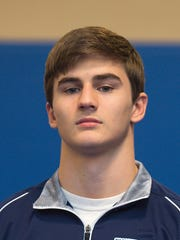 Senior Cole Grove picked up the decisive victory to give Chambersburg its first claim to a division title.