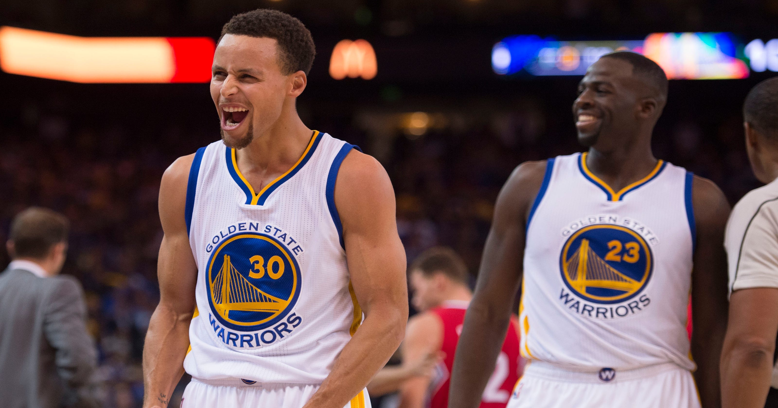 dbd390663 Warriors   luck  continues in impressive fashion with win over Clippers