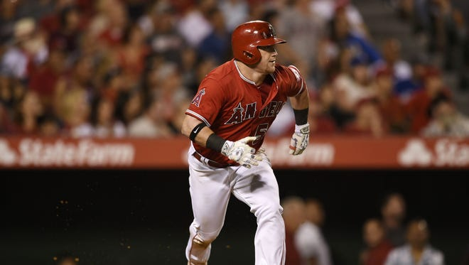 Kole Calhoun hit .271 with 18 homers, 75 RBI and 91 runs last season