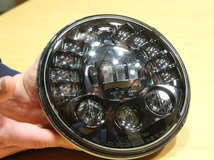J.W. Speaker???s new headlight uses LED technology.