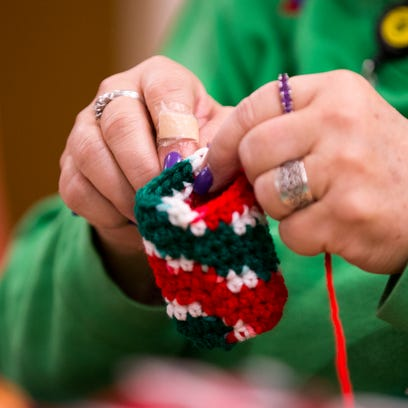 Quilts offer gift of warmth for Community South patients