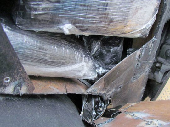 20 pounds of meth seized at the Port of San Luis over the weekend.