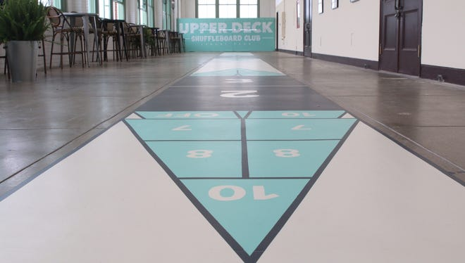 Shuffleboard action comes to the Asbury Park Boardwalk starting this weekend.